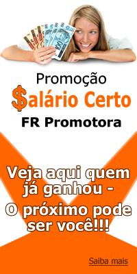 Promoção Salario Certo FR Promotora, Renda Extra, dinheiro